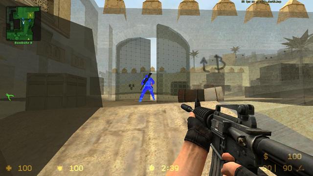 Скачать рабочий чит «game bandit» для css v34.